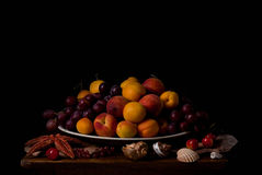 Vassoio della frutta Fotografie Stock Libere da Diritti