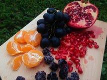 Vassoio della frutta Fotografia Stock