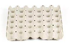 Vassoio di carta dell'uovo Immagine Stock Libera da Diritti