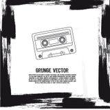 Vassoio di Grunge royalty illustrazione gratis