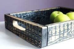 Vassoio di legno Fotografia Stock