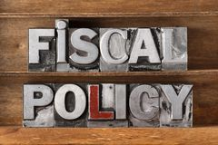 Vassoio di politica fiscale immagini stock libere da diritti