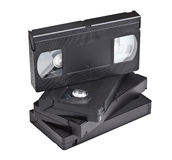 Vassoio di VHS Immagini Stock