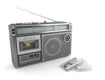 Vassoio e nastro radiofonici royalty illustrazione gratis