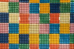 vassoio multicolore dell'uovo Fotografie Stock Libere da Diritti