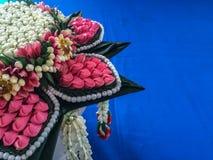 Vassoio tailandese del raccolto di regali di nozze Immagini Stock