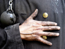 vassoura da chaminé Imagens de Stock Royalty Free
