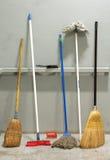 Vassouras Fotografia de Stock