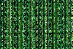 Vast array of computer binary data Stock Photography
