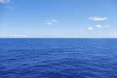 Water horizon royalty free stock image