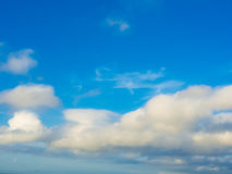 Vast blue sky background and clouds sky stock images
