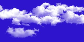The vast blue sky and clouds sky background stock image