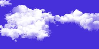 The vast blue sky and clouds sky background royalty free stock photos