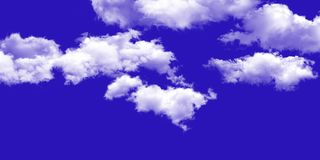 The vast blue sky and clouds sky background stock photography