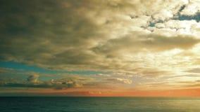 Vast Colorful Seascape stock video