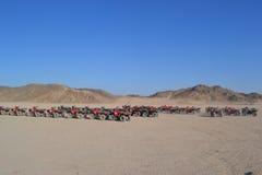 Desert. Vast desert Haul to the horizon stock images
