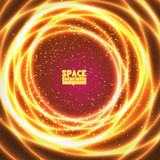 Vast expanses of the universe. Space background vast expanses of the universe. Vector illustration Royalty Free Stock Photography