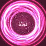 Vast expanses of the universe. Space background vast expanses of the universe. Vector illustration Stock Images