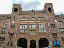 Beurs van Berlage in Amsterdam, Netherlands Stock Photos