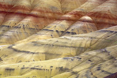 The vast geology of Painted Hills. Stock Photos