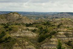 Vast Hillsides of the Badlands Royalty Free Stock Photos