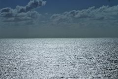 Vast ocean  Royalty Free Stock Photography