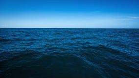 The vast ocean in the winter, Dark and deep ocean Stock Images