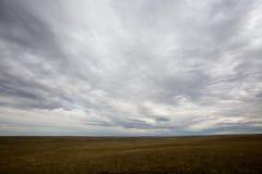 Vast open plains of North Dakota, America Stock Images