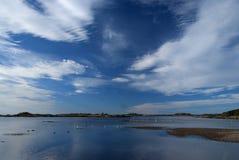 vast sky Fotografering för Bildbyråer