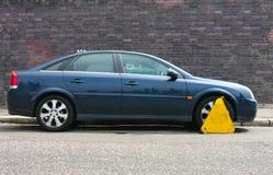 Vastgeklemd voertuig Royalty-vrije Stock Foto