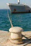 Vastgelegd schip Stock Foto