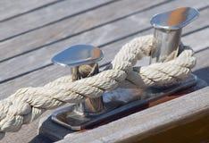 Vastgelegde boot Royalty-vrije Stock Foto's