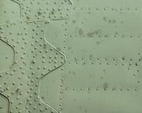 Vastgenageld metaal van helikopter royalty-vrije stock afbeelding