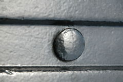 Vastgenageld Staal Stock Afbeeldingen