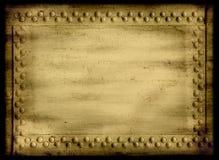 Vastgenagelde grunge achtergrond royalty-vrije stock afbeelding