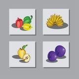 Vastgesteld fruit 1 Royalty-vrije Stock Foto's