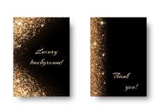Vastgesteld gouden licht Royalty-vrije Stock Afbeelding
