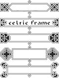 Vastgesteld Keltisch kader Royalty-vrije Stock Fotografie