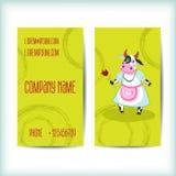 Vastgesteld modern adreskaartjemalplaatje Royalty-vrije Stock Foto's