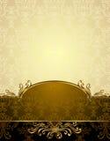 Vastgesteld Naadloos patroon in Victoriaanse stijl Royalty-vrije Stock Foto
