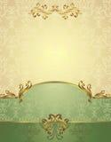 Vastgesteld Naadloos patroon in Victoriaanse stijl Royalty-vrije Stock Afbeelding