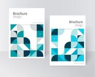 Vastgestelde abstracte dekking Stock Illustratie