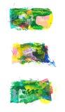Vastgestelde abstracte strepen Royalty-vrije Stock Afbeelding
