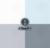Vastgestelde achtergronden van waterverfdocument texturen Royalty-vrije Stock Afbeeldingen