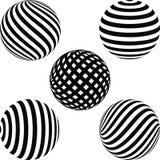 Vastgestelde geometrische vormen vector illustratie