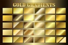 Vastgestelde gouden premie grsdients Royalty-vrije Stock Foto