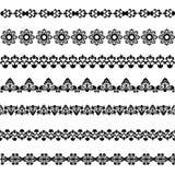 Vastgestelde grenzen Stock Afbeeldingen
