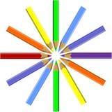 Vastgestelde kleur 06 van de pen Royalty-vrije Stock Foto