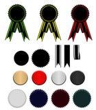 Vastgestelde linten Royalty-vrije Stock Afbeeldingen