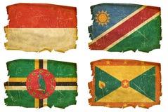 Vastgestelde Vlaggen oude # 48 Royalty-vrije Stock Foto